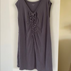 Garnet hill oversize tunic top cover up